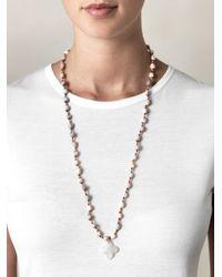 Jade Jagger - Gray Vaijanti and Moonstone Necklace - Lyst