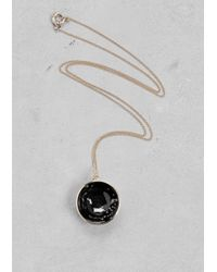 & Other Stories | Metallic Night Sky Necklace | Lyst