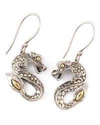 John Hardy | Metallic Naga Drop Earrings | Lyst