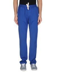 Alain - Blue Casual Pants for Men - Lyst