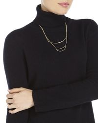 Qi - Black Turtleneck Cashmere Sweater - Lyst