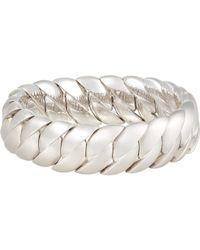 Sidney Garber - White Wave Link Bracelet - Lyst