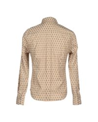 Band of Outsiders - Natural Shirt for Men - Lyst