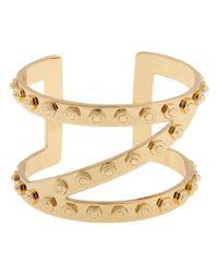 Rachel Zoe | Metallic Z Cuff Bracelet | Lyst