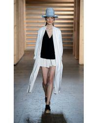 Tibi - White Kimono Maxi Coat - Lyst