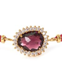 Tai - Red Starburst Beaded Bracelet - Lyst
