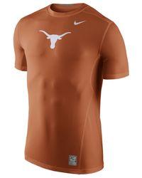 Nike - Orange Men's Texas Longhorns Hypercool T-shirt for Men - Lyst