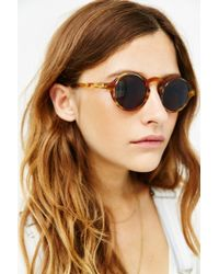 Dusen Dusen - Brown Oval Frame Sunglasses - Lyst