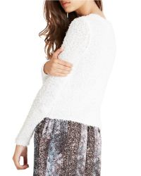 BCBGeneration | Pink V-neck Sweater | Lyst