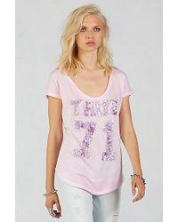 True Religion | Pink True 71 Womens Tee | Lyst