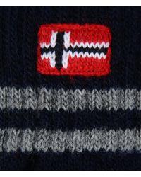 Napapijri | Blue Gloves for Men | Lyst