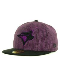 KTZ - Purple Toronto Blue Jays Sub-Out 59Fifty Cap for Men - Lyst
