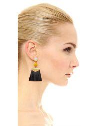 Lizzie Fortunato   Hula Earrings - Black Multi   Lyst