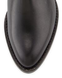 Aquatalia - Black Gabor Leather Knee Boot - Lyst
