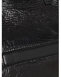 Alexander Wang - Black Prisma Coated Leather Fold-Over Clutch - Lyst