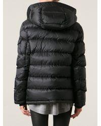 Moncler - Black 'Basile' Padded Jacket - Lyst