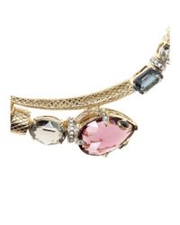 Roberto Cavalli | Multicolor Crystal-embellished Necklace | Lyst