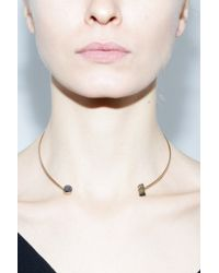 Jene Despain | Black & Green Asteroid Choker | Lyst