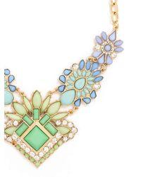BaubleBar | Blue Desert Flower Bib | Lyst
