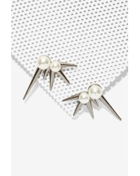 Nasty Gal | Metallic Striker Earrings | Lyst