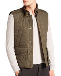 Polo Ralph Lauren - Green Southbury Quilted Vest for Men - Lyst