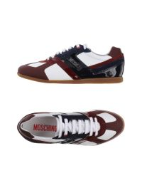 Moschino | Purple Low-tops & Trainers for Men | Lyst