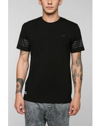Timberland | Black Santi Sleeve Tee for Men | Lyst