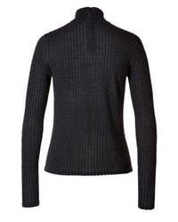Akris - Gray Cashmere-silk Turtleneck Pullover - Grey - Lyst