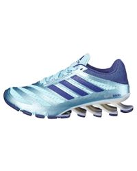 Adidas | Blue Springblade Ignite Low-Top Running Sneakers | Lyst