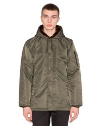 Obey - Green Winston Jacket for Men - Lyst