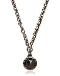 Bonato Milano 1960 - Black Diamond Necklace for Men - Lyst