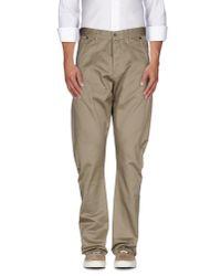 Denham - Natural Casual Trouser for Men - Lyst