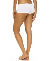 Calvin Klein | White Pure Seamless Boy Shorts | Lyst