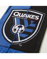 Adidas - Blue San Jose Earthquakes Jacquard Scarf for Men - Lyst