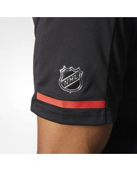Adidas - Blackhawks Pro Locker Room Polo Shirt for Men - Lyst
