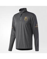Adidas - Gray Golden Knights Authentic Pro Jacket for Men - Lyst