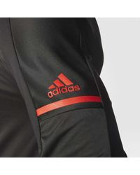 Adidas - Black Red Wings Authentic Pro Jacket for Men - Lyst