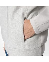 Adidas - Gray Essentials Hoodie for Men - Lyst