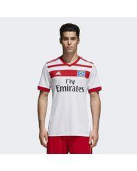 Adidas - White Hamburger Sv Home Jersey for Men - Lyst