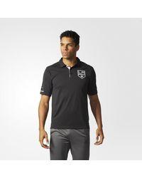 Adidas - Black Kings Pro Locker Room Polo Shirt for Men - Lyst