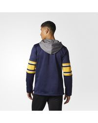 Adidas - Blue Sabres Jersey Replica Pullover Hoodie for Men - Lyst