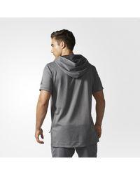 Adidas - Black Dame Hoodie for Men - Lyst