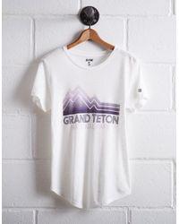 Tailgate White Women's Grand Tetons T-shirt