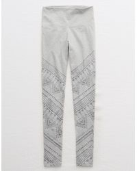 American Eagle - Gray Chill High-waisted Legging - Lyst