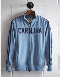 Tailgate Blue Men's Unc Track Jacket for men