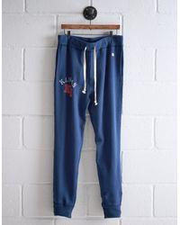 Tailgate Blue Men's Kansas Sweatpant for men