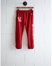 Tailgate Red Women's Nebraska Sweatpant