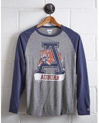 Tailgate Gray Men's Auburn Tigers Baseball Shirt for men
