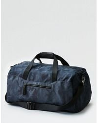 American Eagle - Gray Camo Duffle Bag for Men - Lyst