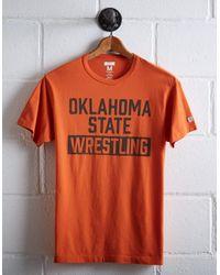 Tailgate Orange Men's Oklahoma State Wrestling T-shirt for men